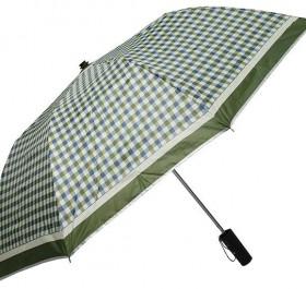 머루 2단 체크실버 우산